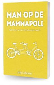 Man op de mammapoli - Cover